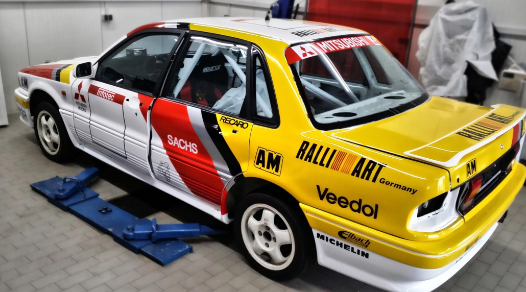 Xtrem Promotion Rally Car Mitsubishi Galant Vr4